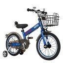 【M&M(エムアンドエム)】MINI KIDS BIKE16(2016モデル)(ディープブルー)子供用自転車