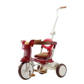 【M&M(エムアンドエム)】1062 iimo tricycle #02(Eternity Red・エタニティレッド)(イーモトライシクル#02)