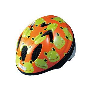 【徳島双輪】TETE スプラッシュハートカエル Sサイズ(52-56cm)キッズ・子供用ヘルメット
