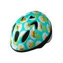 【徳島双輪】TETE スプラッシュハートはたらく車ブルーグリーン Sサイズ(52-56cm)キッズ・子供用ヘルメット