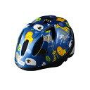 【徳島双輪】TETE スプラッシュハートアニマル ブルー Sサイズ(52-56cm)キッズ・子供用ヘルメット
