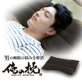 パイプ枕 俺の枕 抗菌消臭効果の竹炭配合パイプ 高さ調整 ストレートネック対応 洗える 3Dメッシュカバー 二重ファスナー付き