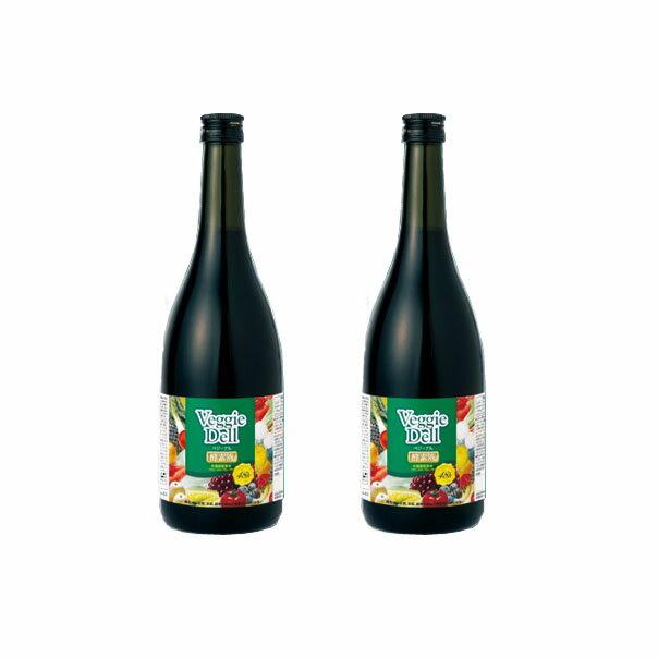 ベジーデル酵素液 2本セット VeggieDell 送料無料 酵素ダイエット ファスティングダイエット 天然素材