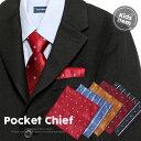 【メール便 送料無料】 刺しゅう ストライプ ポケットチーフ キッズサイズ | フォーマル 赤 レッド ネイビー 礼服 結…