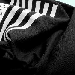 CAMPFREEキャンプフリーベビー服男の子おしゃれ兄弟お揃いおそろいペアルック星条旗プリント半袖ロンパースTシャツベビーキッズジュニアレディースメンズ女の子子供服赤ちゃんカバーオール綿100%70cm80cmUSAアメリカメール便送料無料