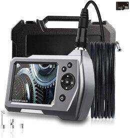 GEECR 16 Gメモリカードを搭載 カメラの長さは5m スネーク カメラ PSE認証 ファイバースコープ スネークカメラ スコープカメラ ファイバースコープカメラ 内視鏡 カメラ 水中カメラ 内視鏡エンドスコープ 管内カメラ 防水 5Mホース ダクト 喚起口 バッテリー 録画 送料無料