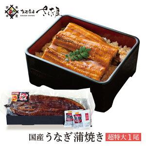 超特大うなぎ 蒲焼き1尾 鰻 国産 ウナギ【冷凍便】