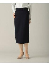 【SALE/50%OFF】オトナリュクススカート スウェットタイトスカート 大きいサイズ 体形カバー ゆったり Elura エルーラ スカート タイトスカート ネイビー ベージュ グレー【RBA_E】[Rakuten Fashion]