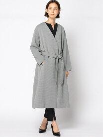 [Rakuten Fashion]【SALE/50%OFF】リュクスツイルコート 大きいサイズ ゆったり 体形カバー Elura エルーラ コート/ジャケット ロングコート ブラック ピンク ベージュ【RBA_E】【送料無料】