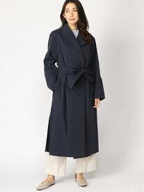 [Rakuten Fashion]【SALE/50%OFF】ベルテッドコート ロングコート 大きいサイズ ゆったり Elura エルーラ コート/ジャケット コート/ジャケットその他 ネイビー ベージュ【RBA_E】【送料無料】