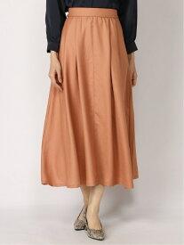 [Rakuten Fashion]【SALE/60%OFF】チンツタックSK フレアスカート 大きいサイズ ゆったり Elura エルーラ スカート ロングスカート オレンジ ネイビー ベージュ【RBA_E】