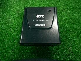 【中古】ミツビシ・ETC・EP-9U53V音声案内タイプ・アンテナ一体型