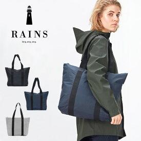 RAINS レインズ トートバッグ ラッシュ Tote Bag Rush バッグ 防水 カバン 鞄 男女兼用 レディース メンズ 1225