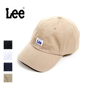 Lee リー ローキャップ 帽子 ツイル コットン ロゴ レディース メンズ ユニセックス 100-176303