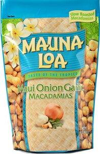 マウナロア マウイオニオン ガーリック マカデミアナッツ Lサイズ 283g ハワイ土産 お土産 おみやげ プレゼント マカダミアナッツ 大袋 大容量