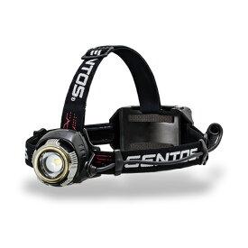【あす楽】【送料無料】GENTOS Gシリーズ LEDヘッドライト ヘッドランプ 大型べゼル搭載 高輝度 高出力ハイブリッドモデル GH-100RG 明るさ300-110ルーメン 防災 アウトドア  ANSI規格準拠
