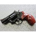 タナカワークス S&W M19 2.5inch Combat magnum HW Ver.3 ペガサスガスガン アルタモント実銃ラウンドバット木製グリップ付