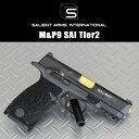 【送料無料】【東京マルイM&Pベース】SalientArms Tier2S&W M&P9 4.25Nebula製 SAIステップリングフレーム
