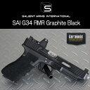 【東京マルイG17ベース】SAI G34RMRグラファイトブラック【salientarms】