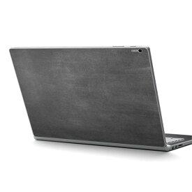 Surface Book2 13.5inch 15inch インチ 専用スキンシール Microsoft サーフェス サーフィス ノートブック ノートパソコン カバー ケース フィルム ステッカー アクセサリー 保護 009613 黒板 シンプル