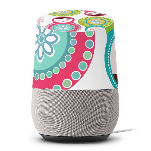 Google Home 専用スキンシール グーグルホーム スマートスピーカー カバー ケース フィルム ステッカー アクセサリー 保護 013747 ウォールステッカー 身長