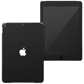 igsticker iPad6 第6世代 2018 専用 apple アップル アイパッド A1893 A1954 全面スキンシール フル 背面 液晶 タブレットケース ステッカー タブレット 保護シール 人気 009016 シンプル 無地 黒