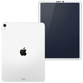 igsticker iPad Pro 11 inch インチ 対応 apple アップル アイパッド A1934 A1979 A1980 A2013 全面スキンシール フル 背面 側面 正面 液晶 タブレットケース ステッカー タブレット 保護シール 人気 004273 白 シンプル 無地