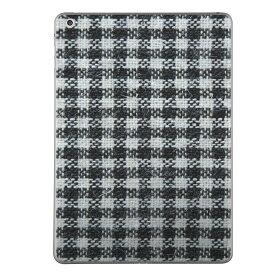 第2世代 iPad Pro 12.9 inch Pro2 インチ 共通 スキンシール apple アップル アイパッド プロ A1670 A1671 タブレット tablet シール ステッカー ケース 保護シール 背面 人気 単品 おしゃれ 012408 チェック 白黒 モノトーン