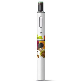 プルームテック ploom tech + Plus プラス 専用 デザインスキンシール カバー ケース 保護 フィルム ステッカー デコ アクセサリー 電子たばこ タバコ 014995 秋 味覚 果物