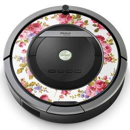 倫巴舞Roomba iRobot[870 871 875 876 880 885對應]專用的皮膚密封罩情况保護firumusutekkadekoakusesari吸塵器家電008837花花花粉紅玫瑰花