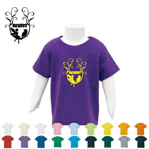 「メルヘン」名入れTシャツ/ベビー服、キッズ服、お名前、子供服、キッズウェア、こども服、入園、入学、新学期、幼稚園、保育園、小学校、、夏服【ネコポス発送可】【cf_bst】ティンカーベル、フェアリー、妖精