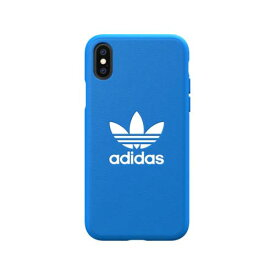 8ff3606037 Adidas 31581 OR Moulded Case CLASSICS TREFOIL FW18 bluebird/white 〔iPhone  XS/X