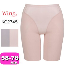 ワコール wacoal ウイング【メール便発送可】KQ2745 おなかもヒップもちゃんとメイク キュッとアップパンツ メイクプラス 58 64 70 76サイズ Wing