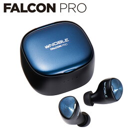 FALCON PRO ★10%OFFクーポン付き|ワイヤレスイヤホン / Bluetooth 5.2 / IPX5防水規格 / 長時間音楽再生 / ワイヤレス充電対応 / ヒアスルー 機能 / Qualcomm aptX Adaptive/ cVc8.0ノイズキャンセリング / マイク内蔵
