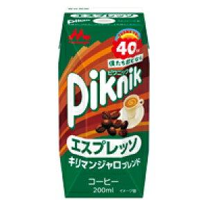 ピクニック エスプレッソ200ml 1ケース(24本){M-1717}
