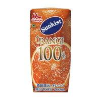 サンキスト100%オレンジ200ml 1ケース(24本入){M-0760}