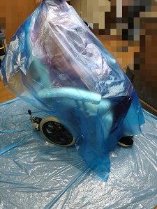 使い捨ブルーシート 200枚セット ラージサイズ 車椅子対応 ベッド対応 カラーリングも安心