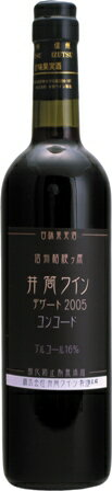 井筒ワイン デザート・コンコード 赤720ml イヅツワイン