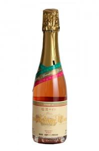 信濃ワイン スパークリング ロゼ 375ml