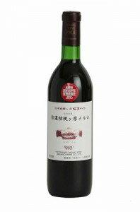 信濃ワイン NAC 信濃桔梗ヶ原メルロー 2012(赤ワイン)720ml