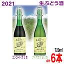【2021年11月上旬頃発売 予約受付中】井筒無添加生ワイン2021年 720ml 赤3本白3本 計6本イヅツ 生ぶどう酒限定醸…