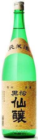 黒松仙醸 純米酒 1800ml瓶桜で有名な信州高遠の地酒です!1.8L