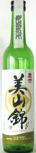 楽國信州 長野県産酒造好適米シリーズ 寒竹 美山錦100% 500ml瓶