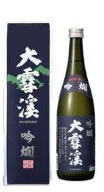 大雪渓 吟燗 720ml 箱入り安曇野の地酒
