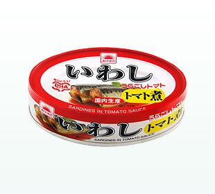あけぼの マルハニチロいわしトマト煮 100g缶詰め(固形量75g) 30缶入りEO06