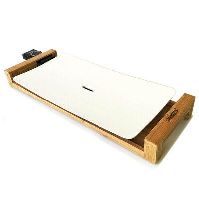ホットプレート Table Grill Pure テーブルグリル ピュア 103030 PRINCESS(プリンセス) 白いホットプレートおしゃれグリルプレート 遠赤外線 竹の台がテーブルを彩るインテリア 油がいらない!お手入れ簡単 【KK9N0D18P】