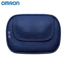 【返品OK!条件付】オムロン クッションマッサージャ HM-350-B ブルー【KK9N0D18P】【100サイズ】