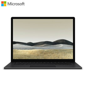 【返品OK!条件付】マイクロソフト ノートパソコン 15インチ Surface Laptop 3 V9R-00039 ブラック サーフェス【KK9N0D18P】【100サイズ】