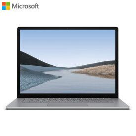 【返品OK!条件付】マイクロソフト ノートパソコン 15インチ Surface Laptop 3 VGZ-00018 プラチナ サーフェス【KK9N0D18P】【100サイズ】