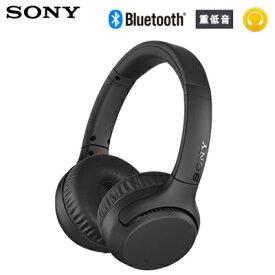 【返品OK!条件付】ソニー ヘッドフォン Bluetooth ワイヤレス ステレオヘッドセット EXTRA BASS WH-XB700-B ブラック【KK9N0D18P】【80サイズ】